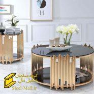 قیمت میز جلو مبلی استیل